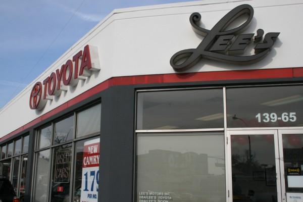 LEE'S-TOYOTA汽车专卖店
