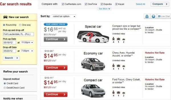 在美国租车 需要提前知道的九件事