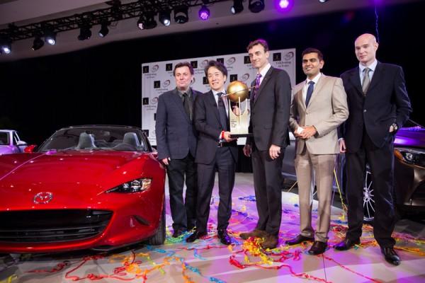 世界年度车大奖 马自达击败奥迪奔驰夺魁
